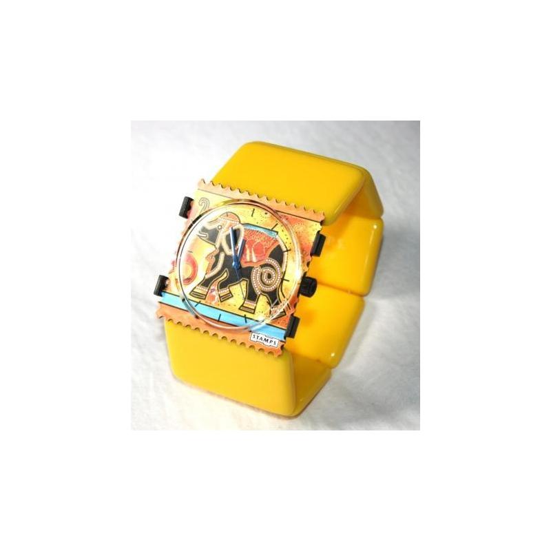 montre stamps elephant