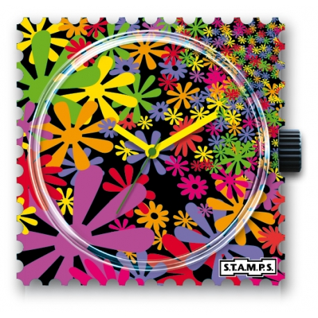 27 € Cadran Montre Stamps FLOWER FLASH