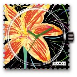 35 € Cadran WR Montre Stamps SUNNY FLOWER