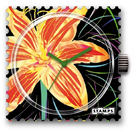 30 € Cadran WR Montre Stamps SUNNY FLOWER - 25 % !