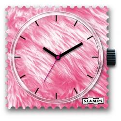 27 € Cadran Montre Stamps FLUPPY PINK .... Vous gagnez 8 € !
