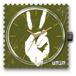 35 € Cadran WR Montre Stamps GREEN PEACE