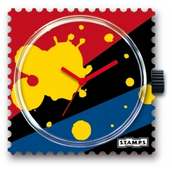 25 € Cadran Montre Stamps SPLASH