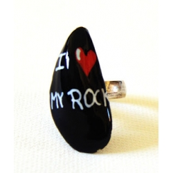 15 € Bague I Love My Rock