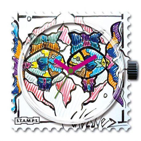 28 € Cadran WR (étanche) Stamps Lécuyer 4  -30% Vous Gagnez 12 € !