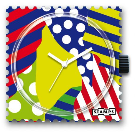 27 € Cadran Montre Stamps DOTS & STRIPES .... Vous Gagnez 8€ !