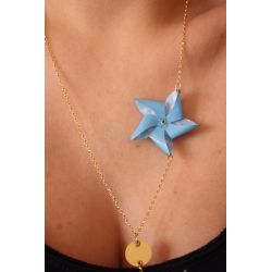 "29 €  Collier "" MOULIN "" Origami"