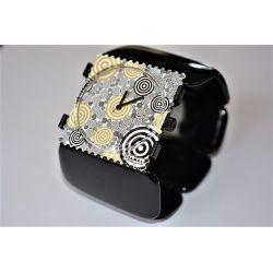14 € Bracelet BELTA Oval Stamps VINTAGE  IMPECCABLE !