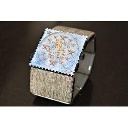27 € Bracelet BELTA STRUCTURE SILVER VINTAGE  IMPECCABLE !