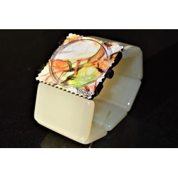 Bracelet BELTA Pearl Stamps VINTAGE  IMPECCABLE !