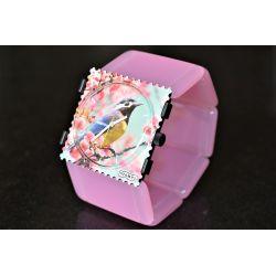Bracelet BELTA Pearl Rose VINTAGE  IMPECCABLE !