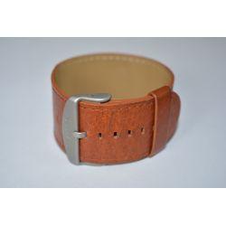 Bracelet Cuir Jack Classic Brown Stamps VINTAGE Mis en Vente