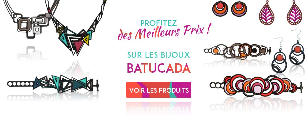 Bijoux Batucada au meilleur prix